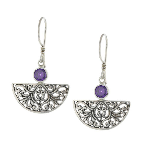 925 Silver Bali Air Earrings