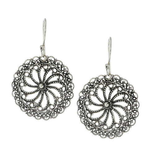 925 Silver Bali Fortune Earrings