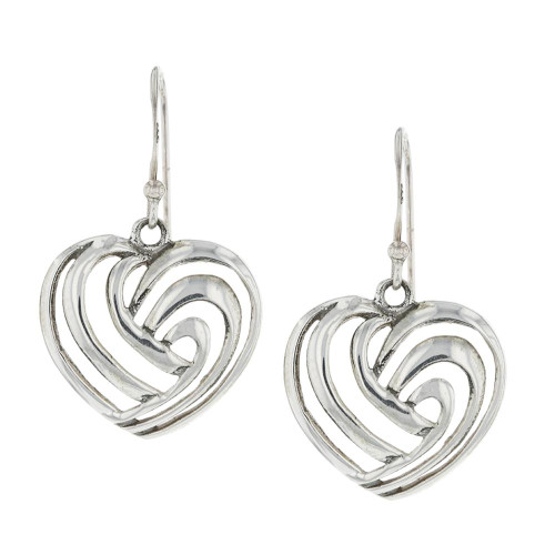 925 Silver Bali Beloved Earrings