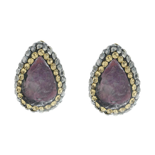Turkish Gemstone Studs