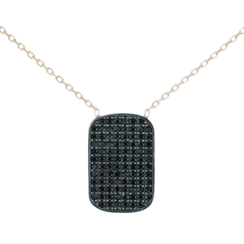 Turkish Tag CZ Necklace