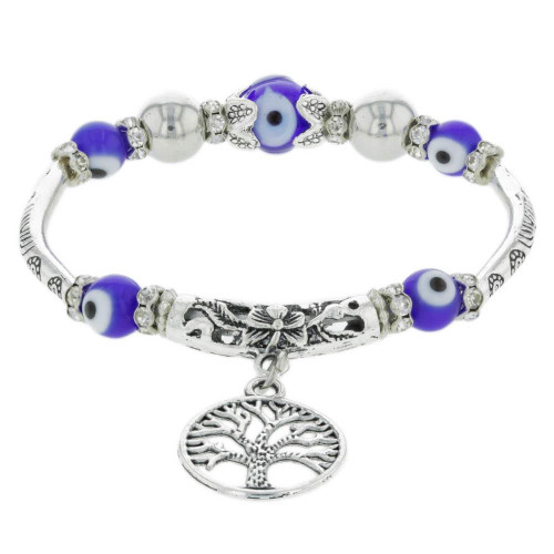 Nazar Tree of Life Bracelet