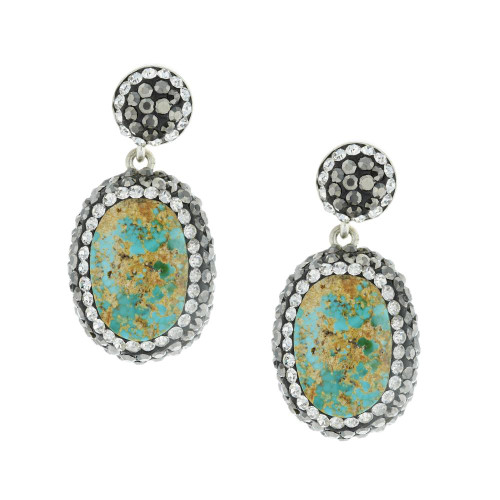 Turkish Turquoise Drop Earrings