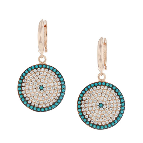 Turkish Evil Eye Nano Earrings