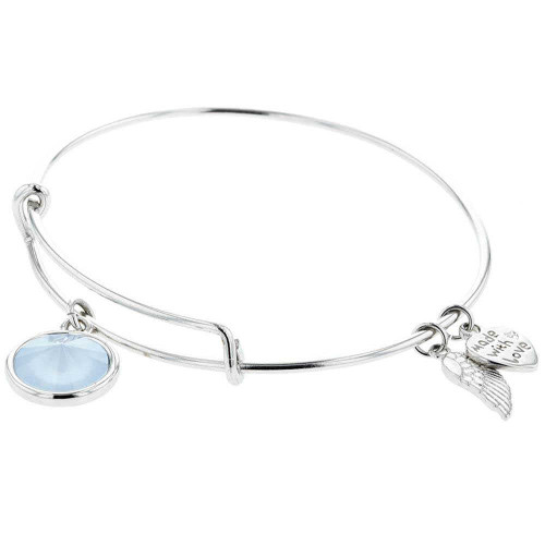 Powder Blue Charm Bracelet
