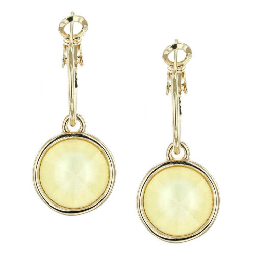 Powder Yellow Gold Bella Earrings