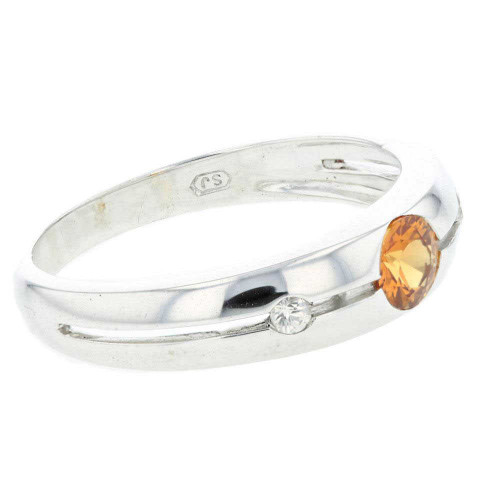 Ravishing Citrine Silver Ring