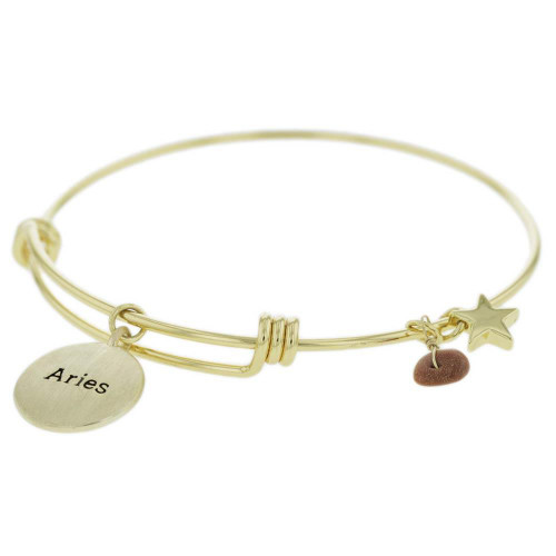 Aries Constellation Charm Bracelet