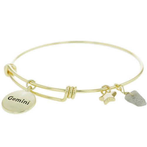 Gemini Constellation Charm Bracelet