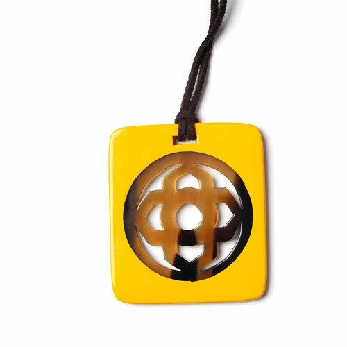 Yellow Wild Insignia Necklace