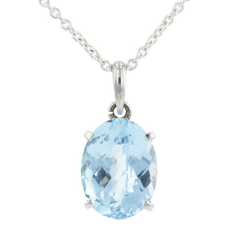 Timeless Topaz Pendant Necklace