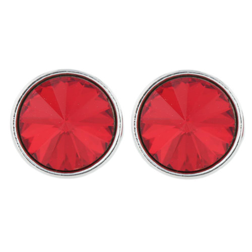 Twinkle Red Stud Earring