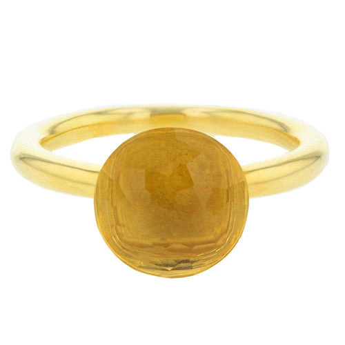 Yellow Citrine Mademoiselle Ring