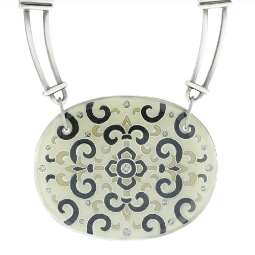 Spanish Imperial Motif Necklace