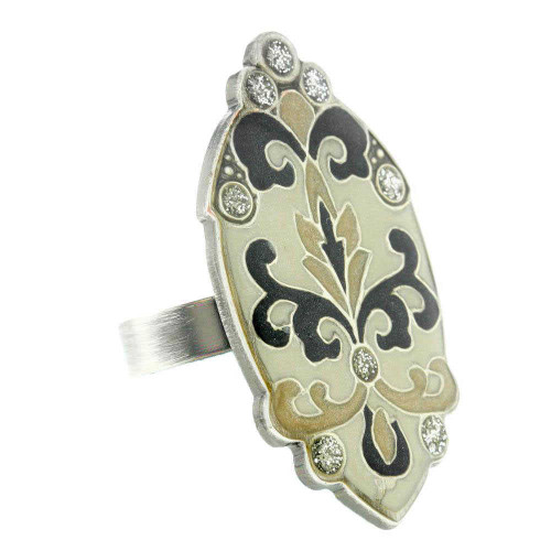 Spanish Silver Queen Ring
