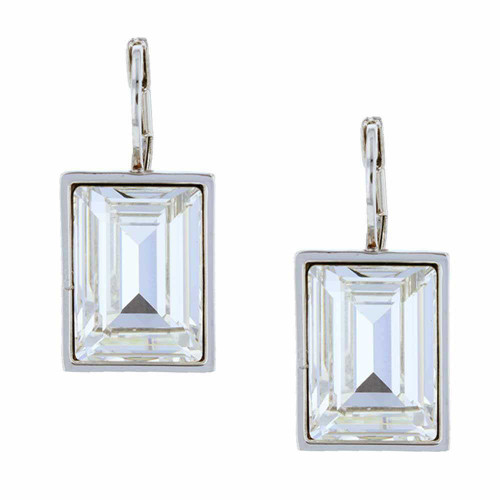 Passion Crystal Rhodium Earrings
