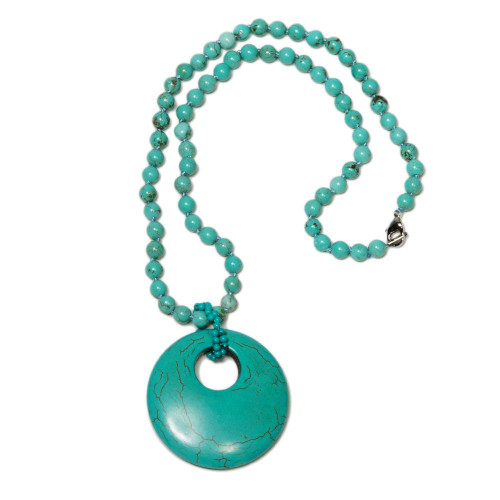 Turquoise Seashore Necklace