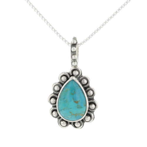Turquoise 925 Necklace