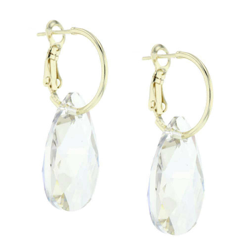 Coconut Rock Candy Gold Earrings