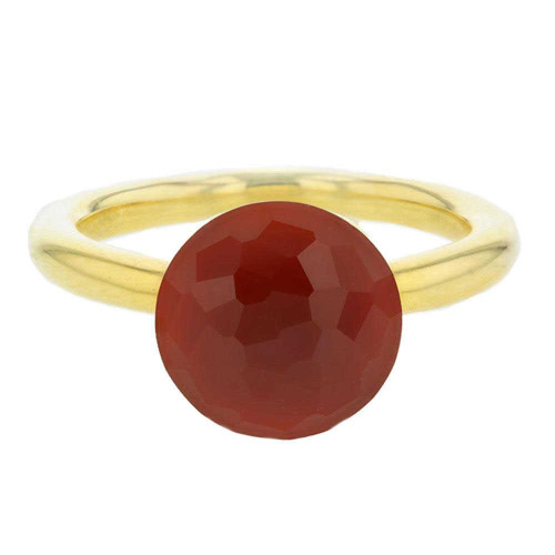 Red Agate Mademoiselle Ring
