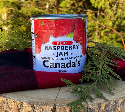The Canadian Jam tradition is lots of berries with simple ingredients. It all combines for an intense taste experience. CANADA'S Pure Raspberry Jam delivers.