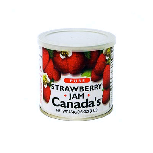 The Canadian Jam tradition is lots of berries with simple ingredients. It all combines for an intense taste experience. CANADA'S Pure Strawberry Jam delivers.