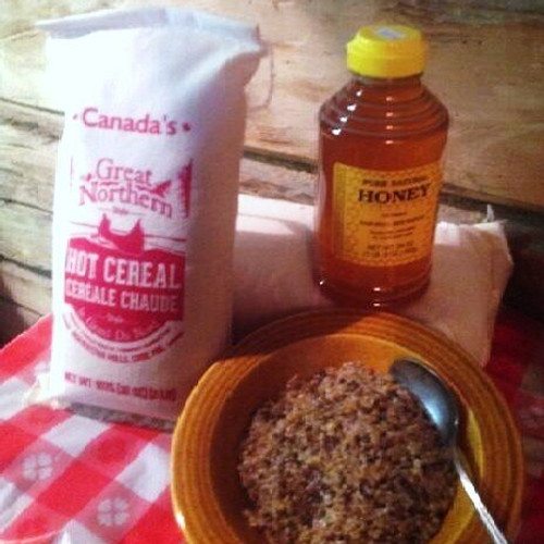 CANADA'S GREAT NORTHERN STYLE CEREAL, in our opinion, is both better tasting and healthier than Red River. Canadian Pioneers would have manufactured it this way... small scale production using simple, readily available ingredients: cracked wheat, rye, flax, and wild rice.