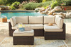 Loughran 4-Piece Outdoor Sectional Set