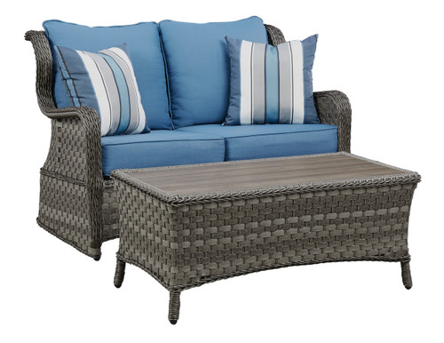 Abbots Court Loveseat Glider