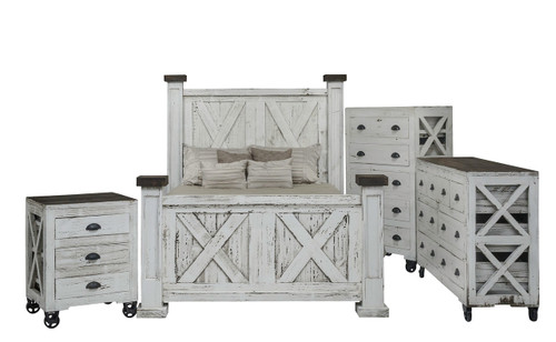 Rustic Imports Crate Bedroom Suite