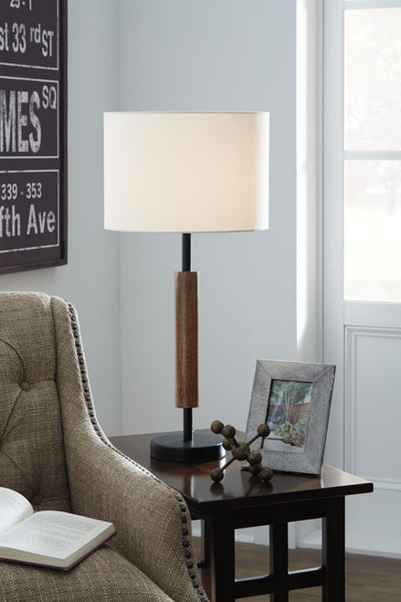 Maliny Wooden Table Lamp