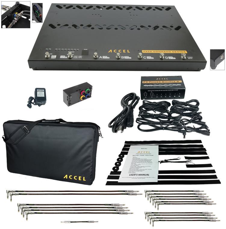 Accel FX22 Command Center Pedalboard Bundle 2.
