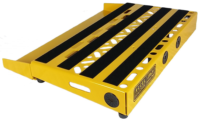 "Accel XTA21 Pedal Board, 4 1/2"" deep Switcher Bracket without Tote."