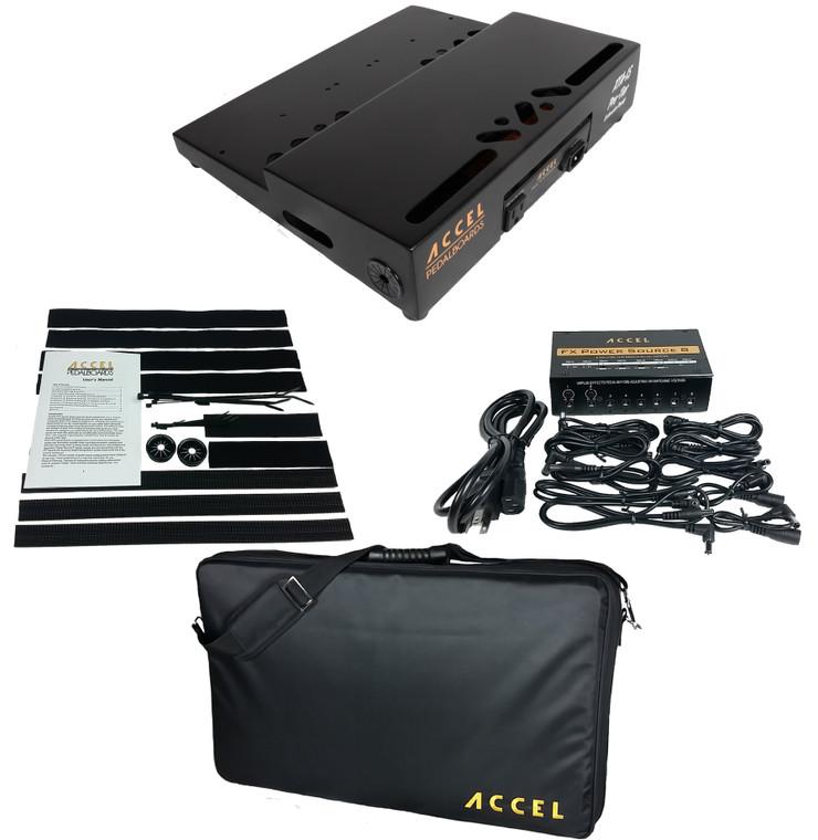 Accel XTA15 Pro Tier Pedal Board Bundle 1.