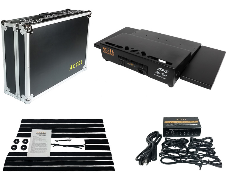 XTA15 Pro Tier Pedal Board Bundle 4.