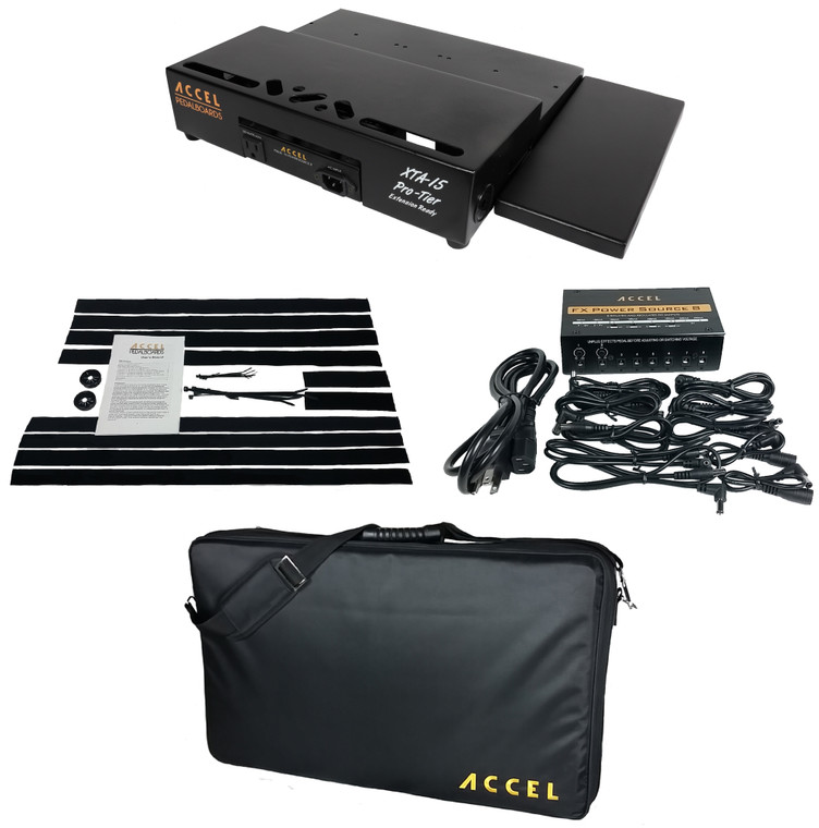 XTA15 Pro Tier Pedal Board Bundle 2.