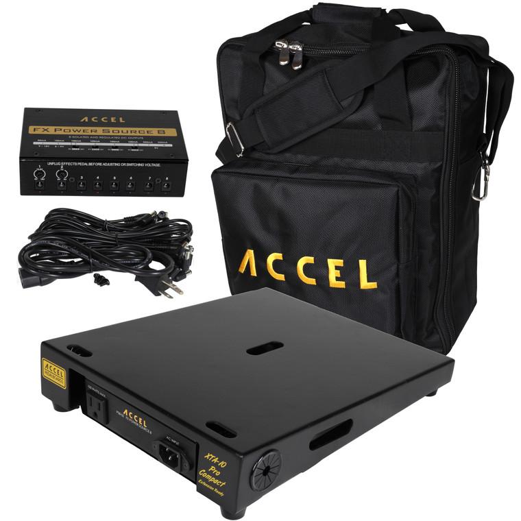 XTA10 Pro Compact Pedal Board Bundle 2
