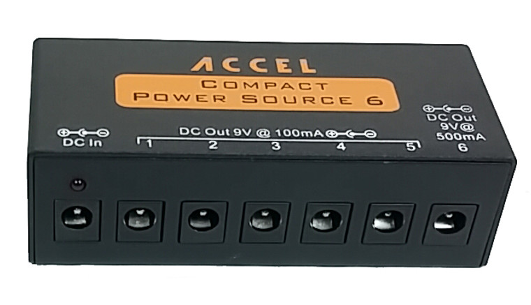 Accel Compact Power Source 6 Power Supply.