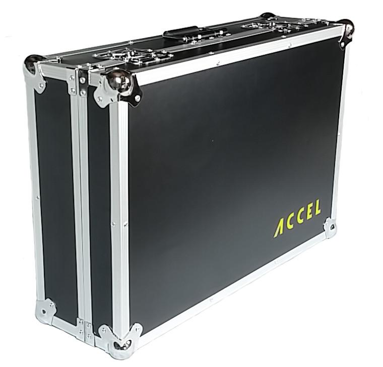 """Accel 26"""" Hard shell Pedal Board Case, Pedal Board Case, Flight Case, Hard shell Case"""