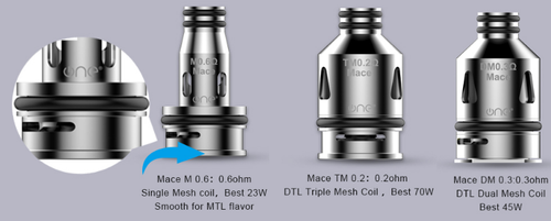 ONE VAPE Mace Replacement Coils