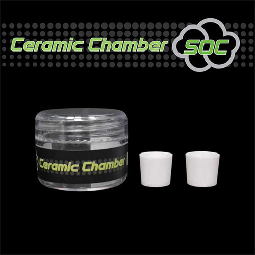 SOC E-Nail Replacement Ceramic Chamber (2-Pack)