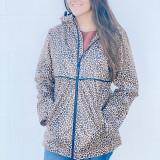 Charles River Print Rainjacket - Leopard