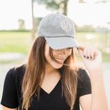 Distressed Baseball Hat - Moss