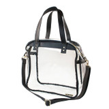 Carryall Clear Tote - Black