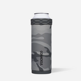 Corkcicle Slim Can Cooler - Grey Camo