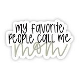 Call Me Mom Hydroflask Sticker