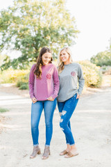 Comfort Colors Long Sleeve - Berry