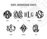 Vinyl Name Decal