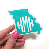 "3"" Missouri Monogram Decal"