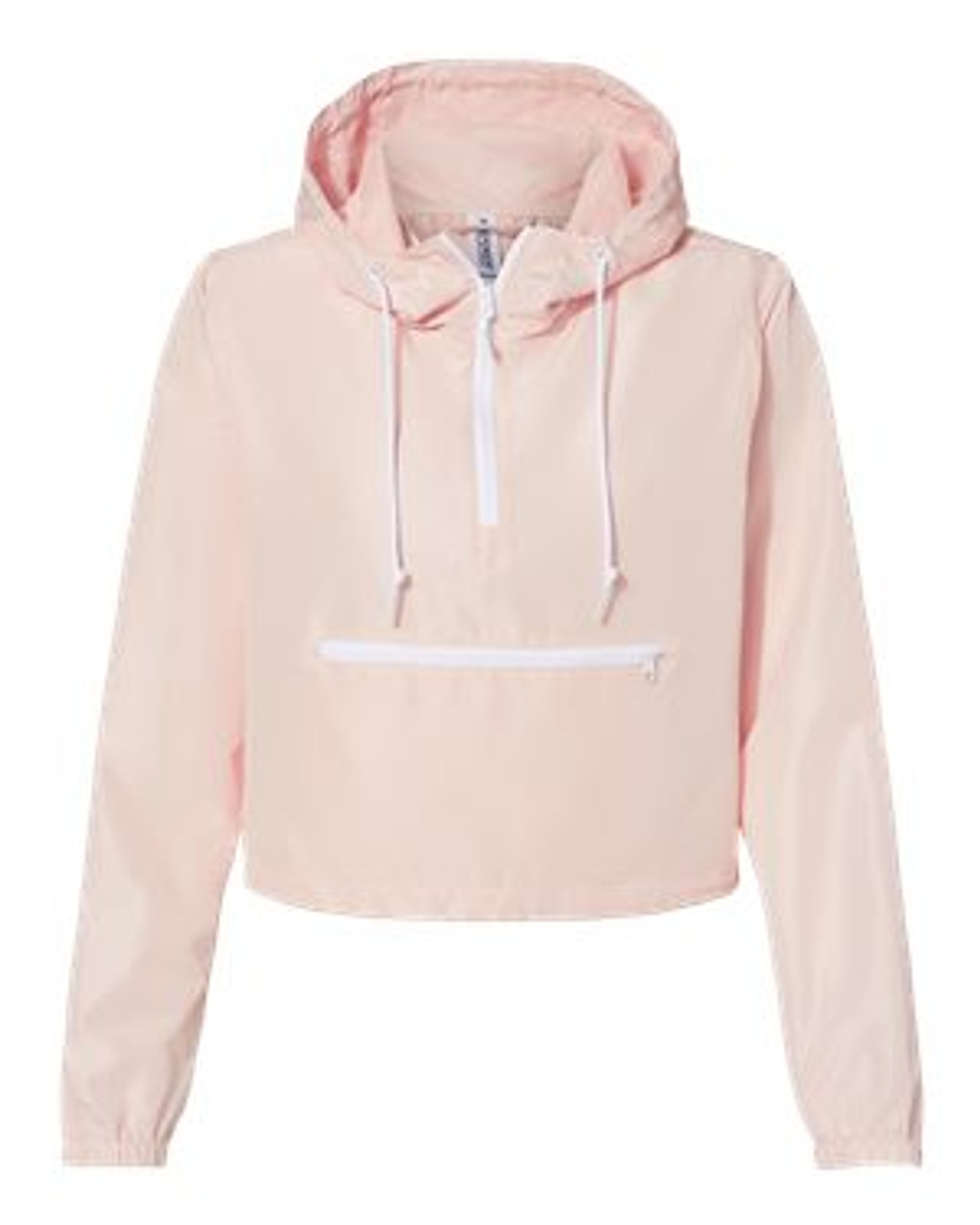 Cropped Windbreaker - Blush